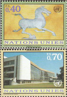 UN - Geneva 286-287 (complete Issue) Unmounted Mint / Never Hinged 1996 Clear Brands - Geneva - United Nations Office