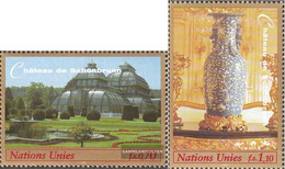 UN - Geneva 352-353 (complete Issue) Unmounted Mint / Never Hinged 1998 Culture- And Natural Heritage - Geneva - United Nations Office