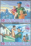 UN - Geneva 348-349 (complete Issue) Unmounted Mint / Never Hinged 1998 Peacekeeping - Geneva - United Nations Office