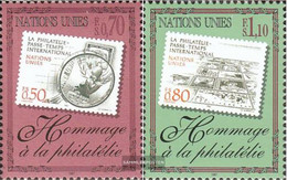 UN - Geneva 319-320 (complete Issue) Unmounted Mint / Never Hinged 1997 Philately - Geneva - United Nations Office