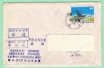 OM1. Lettre Taiwan Formose Pour La France. TP=  Aéroport.   15.10.68 - 1945-... República De China