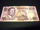BOTSWANA 5 Pula 1992, Pick N° 11 , BOTSWANA - Botswana