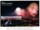 (888) Warsaw Stadium - Poland (with Stamp At Back Of Postcard) - Stadien