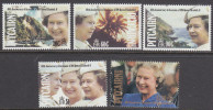 PITCAIRN Is, 1992 QUEENS ACCESSION ANNIV 5 MNH - Francobolli