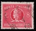 ITALY - Scott #EY7 Authorized Delivery (*) / Used Stamp - 1900-44 Vittorio Emanuele III