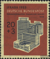 FRD (FR.Germany) 172 Unmounted Mint / Never Hinged 1953 International Stamp Exhibition - Unused Stamps