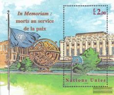 UN - Geneva Block12 (complete Issue.) Unmounted Mint / Never Hinged 1999 In Memorian - Geneva - United Nations Office