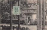 Thématiques Sri Lanka Ceylon Ceylan Royaume Uni Postcard With Stamp Ceylon Postage Gateway Kandy - Sri Lanka (Ceylon)