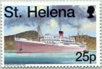 N° Yvert 706 - Timbre De Sainte Hélène (1998) - MNH - Dunottar Castle 1936 (JS) - Saint Helena Island