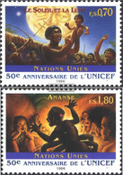 UN - Geneva 301-302 (complete Issue) Unmounted Mint / Never Hinged 1996 UNICEF - Geneva - United Nations Office