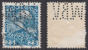 "Mi 147v, Yv 109  PERFORE PERFORES PERFIN PERFINS LÖCHUNG PERFORATION "" WBV "" Wiener Bank Verein - Abarten & Kuriositäten"
