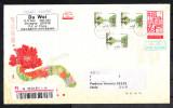 Cina   -   2015.  Lettera Raccomandata.  Very Fine Registered Letter - 1949 - ... Repubblica Popolare