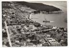 Croatie--MAKARSKA-Vue Aérienne (port,bateau)-cpsm 15 X 10 N° P 569/30  éd Izrada Agencije-timbre - Croatie