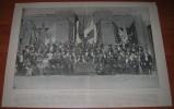 Il Congresso Artistico Letterario Internazionale Di Milano - Settembre 1892  S.e.ferdinando Martini - Istruzion - Litografia
