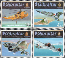 Gibraltar 1473-1476 (complete Issue) Unmounted Mint / Never Hinged 2012 Royal Air Force - Gibraltar