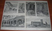 Tolentino - Vedute E Ricordi Storici - Disegni Dal Vero Di A.nacari - Dell'800 - Litografia