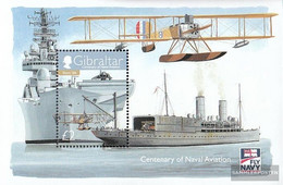 Gibraltar Block88 (complete Issue) Unmounted Mint / Never Hinged 2009 Aircraft The Marine - Gibraltar