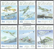 Gibraltar 1260-1265 (complete Issue) Unmounted Mint / Never Hinged 2008 Royal Air Force - Gibraltar