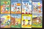 GRENADA   1582-9 MINT NEVER HINGED SET OF STAMPS OF DISNEY ; OLYMPICS ; SEOUL  #  S-237   ( - Disney
