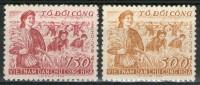 VIETNAM Du Nord: N°154/155 NSG   - Cote 18,55€ - - Viêt-Nam