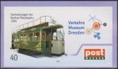 Allemagne 5 Mai 2012. Poste Locale Post Modern De Dresde. Tram à Chevaux De Berlin 1890. Musée Du Transport Dresde - Tramways
