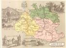 Chromo - Département De L'Ariège ( 09 ) - Foix-sur-Ariège Pamiers Mirepoix Lavelanet Ax-sur-Ariège Massat St-Girons - Chocolat