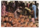 TCHAD--CHARI-BAGUIRMI  BOKORO--1987--Au Marché (très Animée) Cpm Photo Bwaso - Tchad