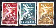 BULGARIA \ BULGARIE - 1946 - Referendum Du 8 September - 3v Obl. - 1945-59 People's Republic