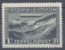 LIECHTENSTEIN - 1931 -  POSTE AERIENNE N° 7 - XX - MNH - TB - - Poste Aérienne
