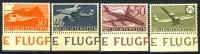 1960 Liechtenstein MNH Set  Of 4 Airmails - Liechtenstein