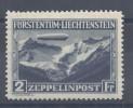 LIECHTENSTEIN - 1931 -  POSTE AERIENNE N° 8 - NEUF - X - TB - - Poste Aérienne