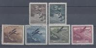 LIECHTENSTEIN - 1930 -  POSTE AERIENNE N° 1 à 6 - NEUFS - X - TB - - Poste Aérienne