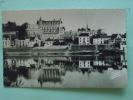 V08-37--indre Et Loire-le Chateau D'amboise-et La Loire-1952-photo Veritable - Amboise