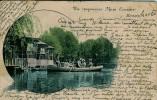 BULGARIE PLOVDIV VUE DE LA RIVIERE BARQUE EN 1904  BELLE CARTE RARE !!! - Bulgarie