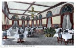 USA ETATS UNIS AMERIQUE DINING ROOM MONTICELLO HOTEL  NORFOLK VA  BELLE CARTE RARE !!! - Norfolk