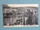 CPA ANGLETERRE   FOLKESTONE  FISHMARKET  Avec Personnages Et Animations Et Publicité 1912 - Folkestone