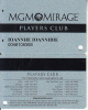 USA - MGM Mirage, casino member card, used