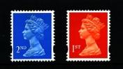 GREAT BRITAIN - 1993  MACHIN  2nd+1st  LITHO MINT NH  SG X1670+X1671 - 1952-.... (Elisabetta II)