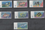 SEYCHELLES, MNH, 2003, MARINE LIFE, DEFINITIVES, FISH, SHARKS, WHALE SHARK,7v - Fishes