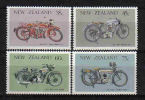 N.Zealand 1986 Classic Motorbikes .T. 920/923  ** - Ongebruikt