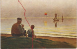 Künstlerkarte, H. Brasen , Feierabend - Ohne Zuordnung