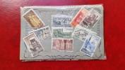 España  Plaqueta 3 Serie Completa MONASTERIOS 1963/65/67, 10 Valores   MNH** - 1961-70 Nuevos & Fijasellos