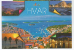 Vue De L'île De HVAR,  Une Belle Carte Postale Non Circulée - Croacia