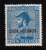 Cook Islands MNH Scott #101 Cook Islands Overprint On NZ 2sh George V - Cook