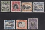 Cook Islands MH Scott #91-97 Set Of 7 Scenics, George V - Wmk NZ, Star - Cook