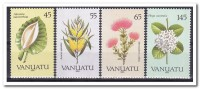 Vanuatu 1990, Postfris MNH, Flowers - Vanuatu (1980-...)