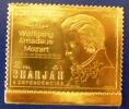 SHARJAH Musique, Mozart. Michel N° 733 ** MNH. Timbre OR - Musik
