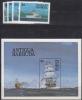 Antigua & Barbuda MiNr. 756/59 + Bl. 75 ** Schiffe - Antigua Und Barbuda (1981-...)