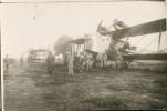 Carte  Photo Biplan Jean Casale (autre Vue) - 1919-1938