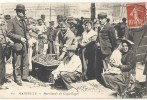 C P A  -   MARSEILLE  Marchands De Coquillages - Vieux Port, Saint Victor, Le Panier